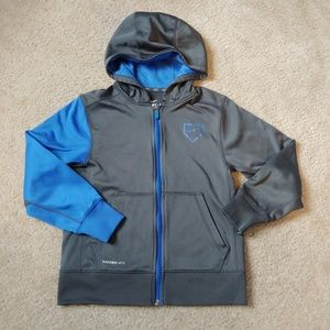 Boys small Nike therma-fit baseball hoodie